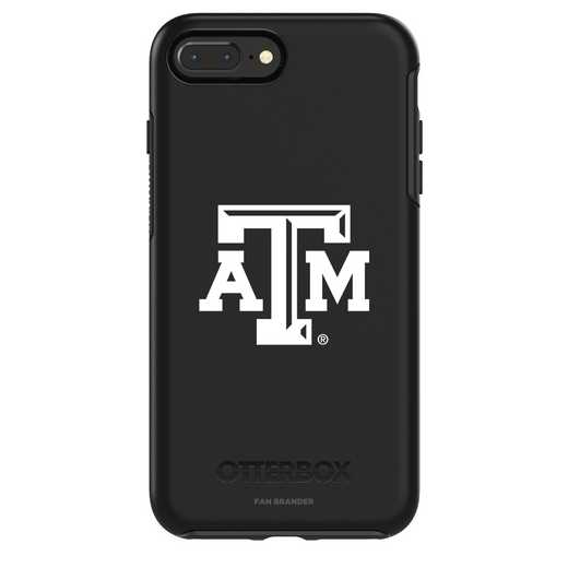 IPH-87P-BK-SYM-TAM-D101: FB Texas A&M OB SYMMETRY IPN 8 PLUS AND IPN 7 PLUS
